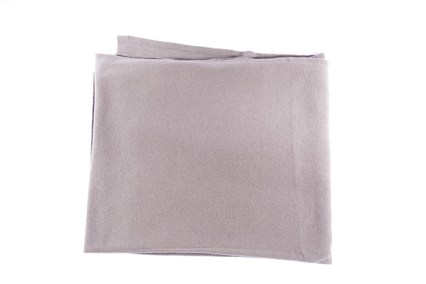 sciarpa cashmere-tortora