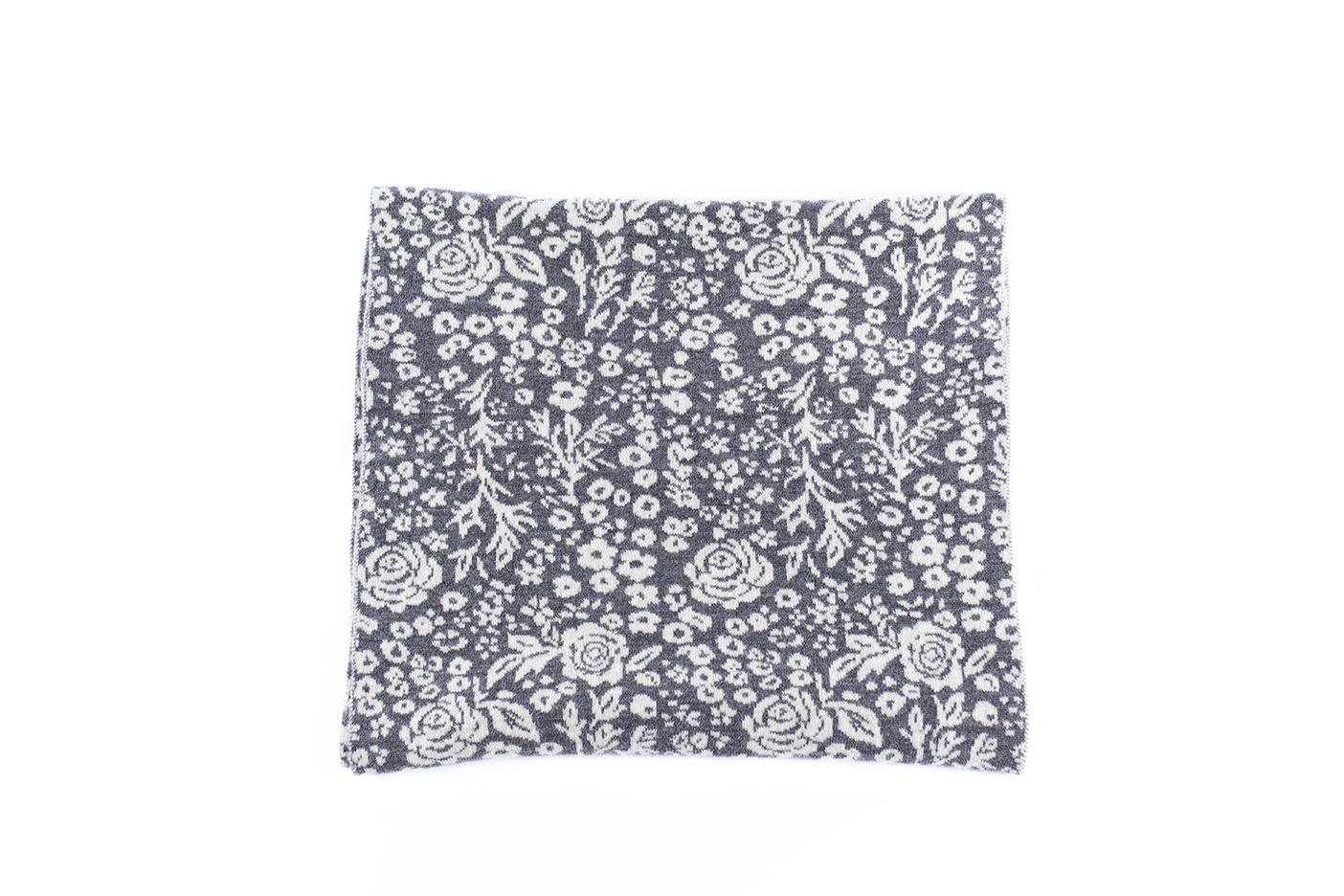 sciarpa rose grigio-ecru